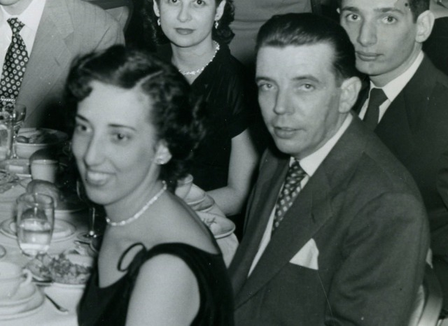 Mom and Dad at banquet 1951